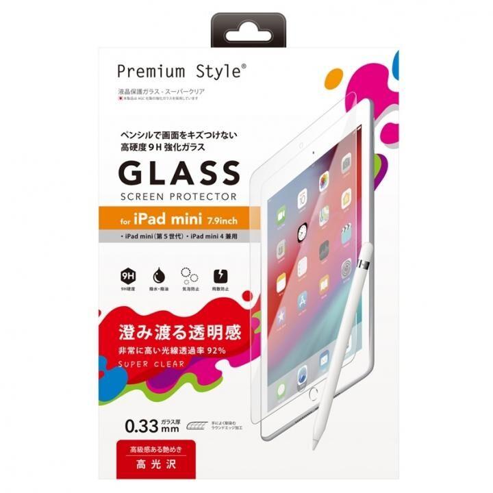 液晶保護ガラス スーパークリア iPad mini(2019)/iPad mini 4_0