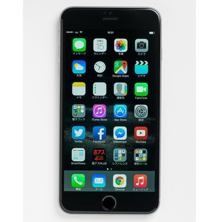 iPhone6 Plus フィルム [0.55mm]Deff Dragontrail製 液晶画面全面保護強化ガラス ブラック iPhone 6 Plus_0