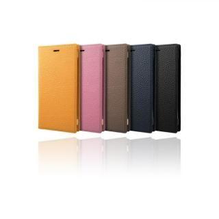 【iPhone XS/Xケース】GRAMAS Shrunken-calf フルレザー手帳型ケース ブラック iPhone XS/X_4