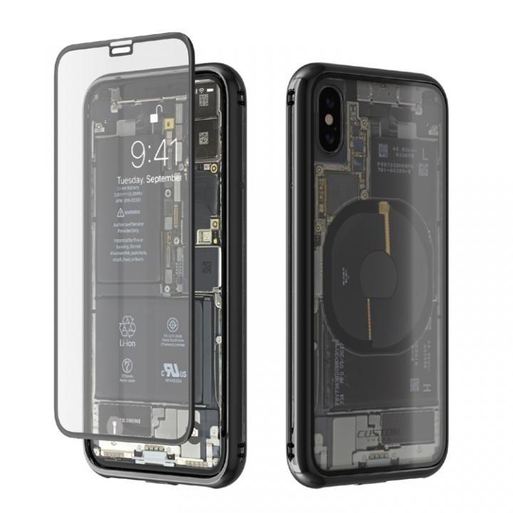 iPhone X ケース Monolith Transparent X ブラック iPhone X_0