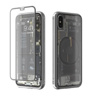 【iPhone X】Monolith Transparent X シルバー iPhone X【7月下旬】