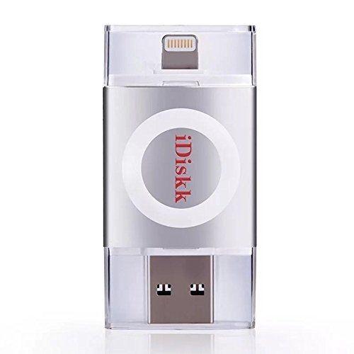 iDiskk フラッシュドライブ MFI認証 USB 3.0 32GB スペースグレー_0