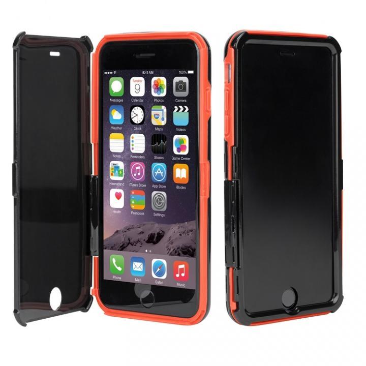 【iPhone6 Plusケース】Targus 覗き見防止手帳型ケース レッド/ブラック iPhone 6 Plus_0