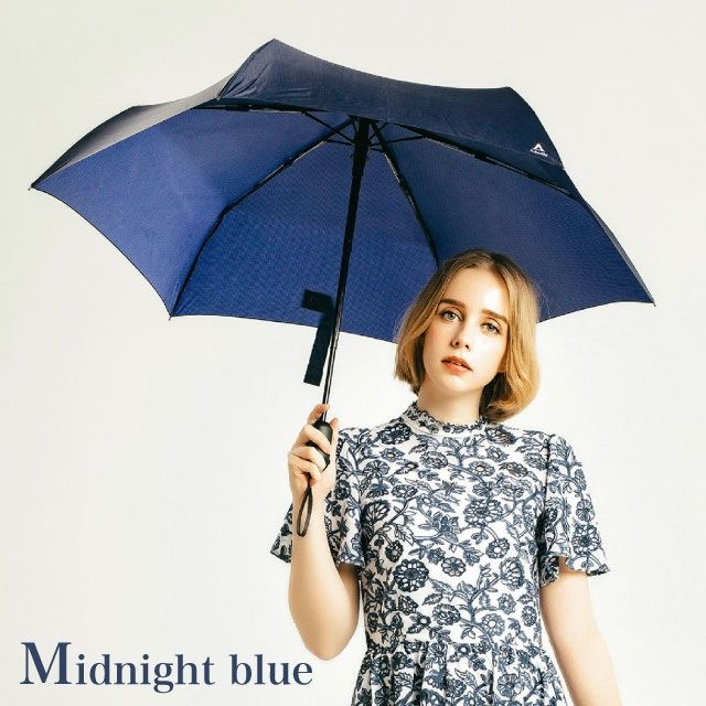 Tube Auto 折りたたみ傘 MIDNIGHT BLUE【5月中旬】_0
