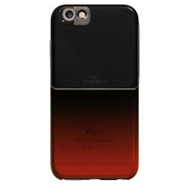 【iPhone6ケース】MIX&MATCH ケースブラック・レッド iPhone 6_0