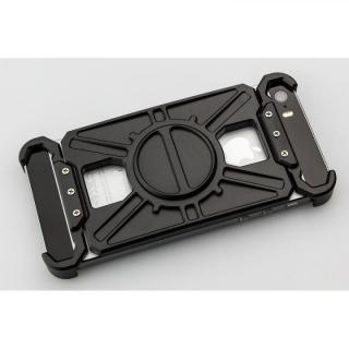 【iPhone SE/5s/5ケース】アルミ削り出し プロテクターケース「AQ1」ブラック iPhone SE/5s/5