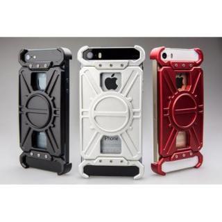 【iPhone SE/5s/5ケース】アルミ削り出し プロテクターケース「AQ1」シルバー iPhone SE/5s/5_1