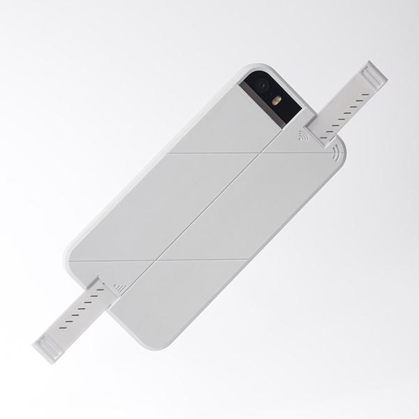 iPhone SE/5s/5 ケース 3G/4G シグナル拡張ケース LINKASE PRO ホワイト iPhone SE/5s/5_0