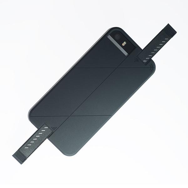 3G/4G シグナル拡張ケース LINKASE PRO ブラック iPhone SE/5s/5
