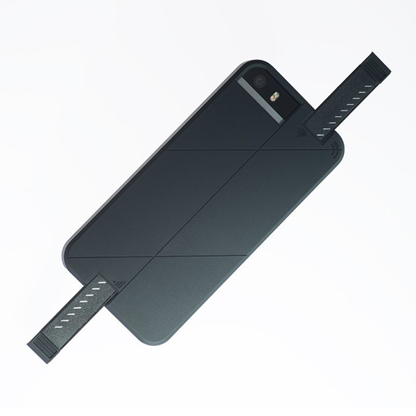 iPhone SE/5s/5 ケース 3G/4G シグナル拡張ケース LINKASE PRO ブラック iPhone SE/5s/5_0