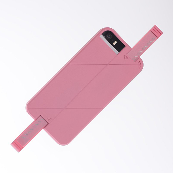 iPhone SE/5s/5 ケース 3G/4G シグナル拡張ケース LINKASE PRO ピンク iPhone SE/5s/5_0