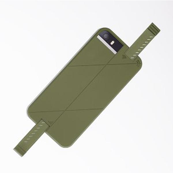 iPhone SE/5s/5 ケース 3G/4G シグナル拡張ケース LINKASE PRO グリーン iPhone SE/5s/5_0