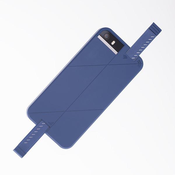 iPhone SE/5s/5 ケース 3G/4G シグナル拡張ケース LINKASE PRO ブルー iPhone SE/5s/5_0