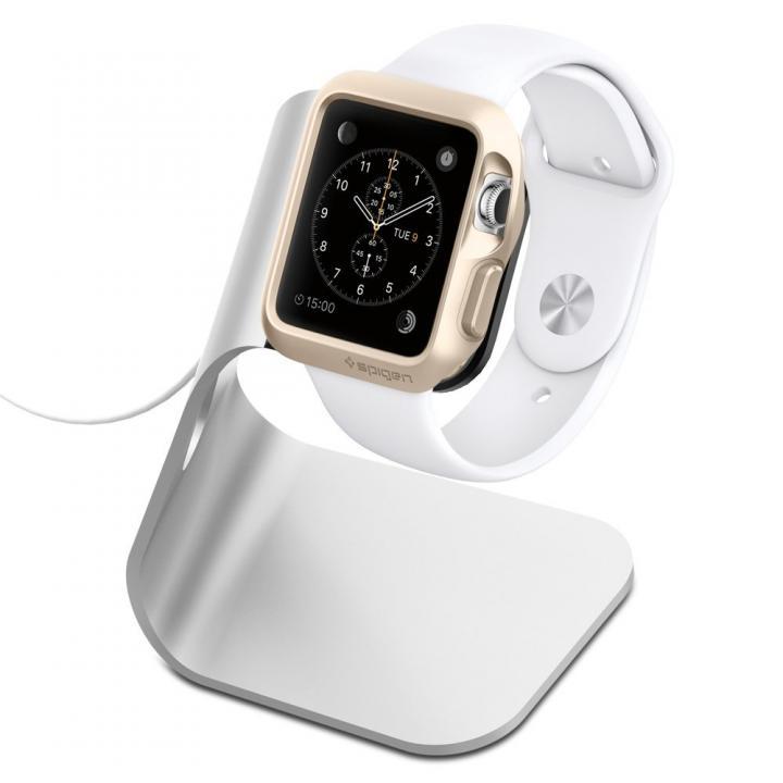 Spigen Apple Watch アルミニウム電源スタンド