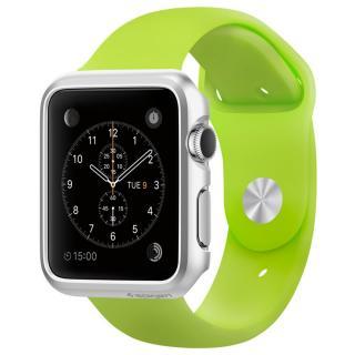 Spigen Apple Watch 42mm 薄型ハードケース シルバー