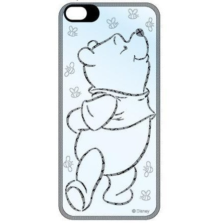 【iPhone SE/5s/5】ディズニー フラッシュフィルム ドナルド プー iPhone SE/5s/5 背面フィルム_0
