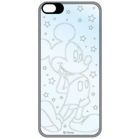 iPhone SE/5s/5 ディズニー フラッシュフィルムiPhone5(ミッキー)_0