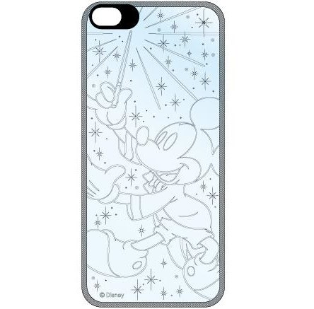 iPhone SE/5s/5 ディズニー フラッシュフィルムiPhone5(ミッキー マジック)_0