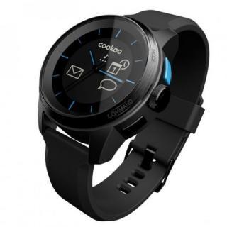 スマートフォン連動腕時計 COOKOO watch ブラック
