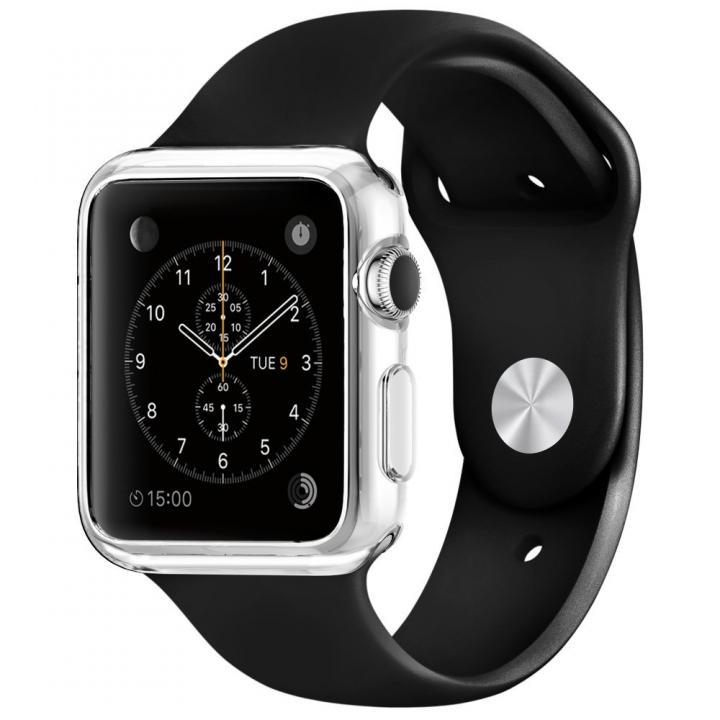Spigen Apple Watch 42mm スリムクリアTPUケース_0