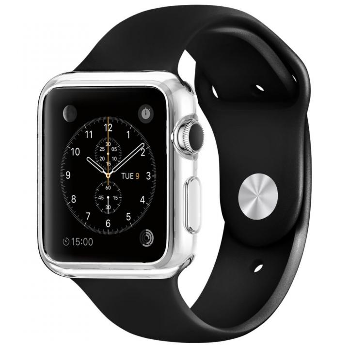 Spigen Apple Watch 42mm スリムクリアTPUケース