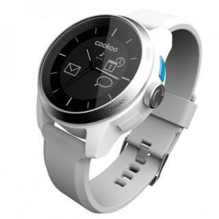 スマートフォン連動腕時計 COOKOO watch ホワイト