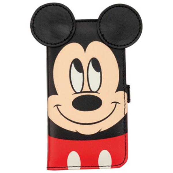 ディズニー 手帳型ケース ダイカットタイプ ミッキー iPhone SE/5s/5/5cケース