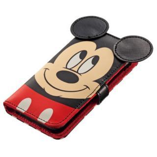 ディズニー手帳カバー ダイカットタイプ ミッキー iPhone 5/5s/5cケース