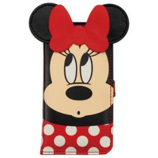 ディズニー 手帳型ケース ダイカットタイプ ミニー iPhone SE/5s/5/5cケース