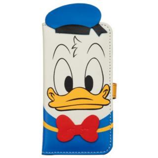 ディズニー 手帳型ケース ダイカットタイプ ドナルド iPhone SE/5s/5/5cケース