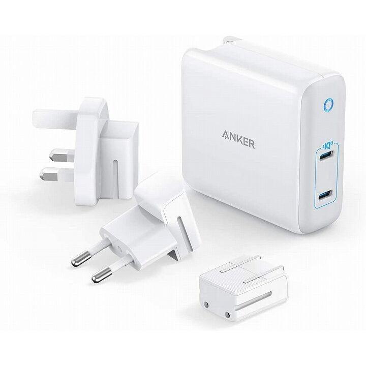 Anker PowerPort III 2-Port 60W ホワイト【5月下旬】_0