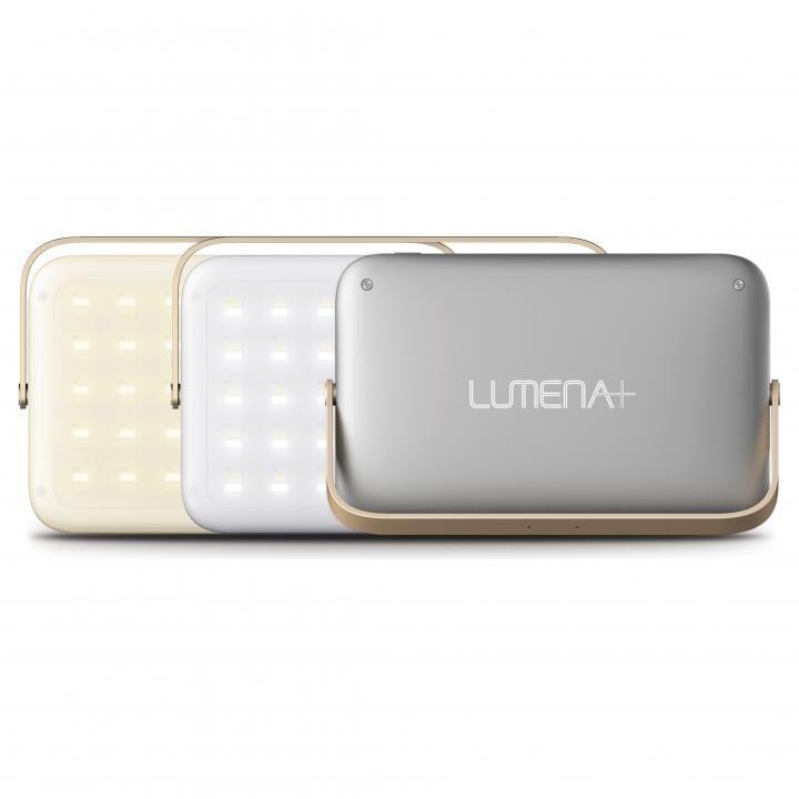 LEDランタン LUMENA(ルーメナー)プラス グレイ_0