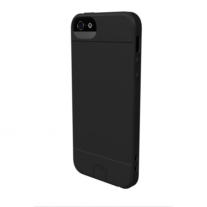 iPhone SE/5s/5 ケース Sumajin Slim TPU Case  iPhone 5 Black_0