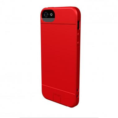 【iPhone SE/5s/5ケース】Sumajin Slim TPU Case  iPhone 5 Red