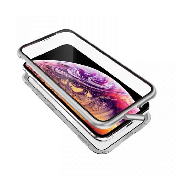 iPhone XS/X ケース Monolith Alluminio 2020(モノリス アルミニオ 2020)/シルバー ゴリラガラス+アルミバンパー for iPhone XS/X_0
