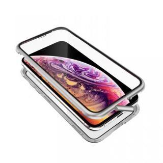 iPhone XS/X ケース Monolith Alluminio 2020(モノリス アルミニオ 2020)/シルバー ゴリラガラス+アルミバンパー for iPhone XS/X