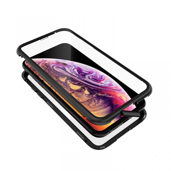 iPhone XS/X ケース Monolith Alluminio 2020(モノリス アルミニオ 2020)/ブラック ゴリラガラス+アルミバンパー for iPhone XS/X_0