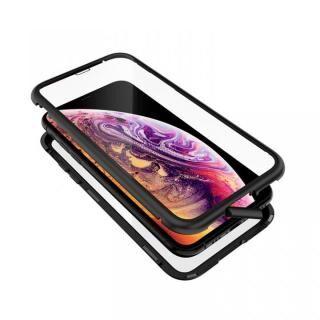iPhone XS/X ケース Monolith Alluminio 2020(モノリス アルミニオ 2020)/ブラック ゴリラガラス+アルミバンパー for iPhone XS/X