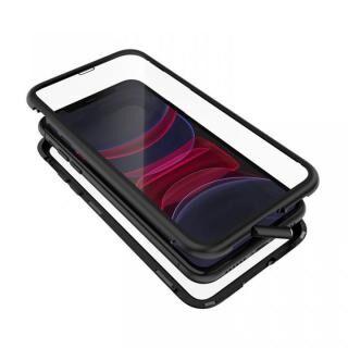 iPhone 11 ケース Monolith Alluminio 2020(モノリス アルミニオ 2020)/ブラック ゴリラガラス+アルミバンパー for iPhone 11