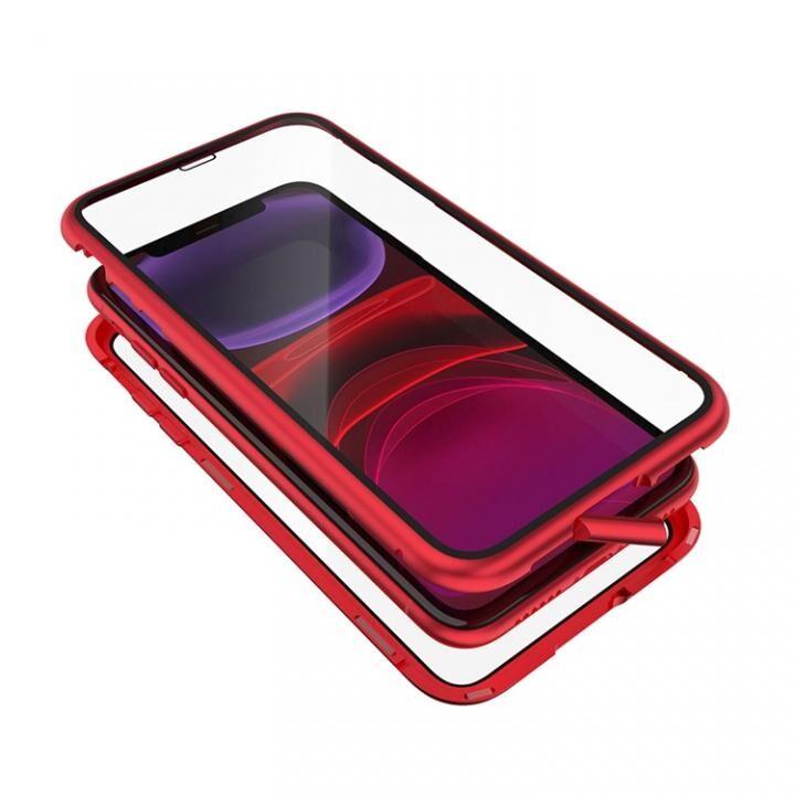 iPhone 11 ケース Monolith Alluminio 2020(モノリス アルミニオ 2020)/レッド ゴリラガラス+アルミバンパー for iPhone 11_0