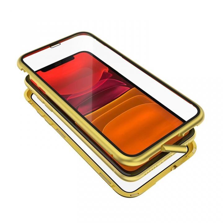 iPhone 11 ケース Monolith Alluminio 2020(モノリス アルミニオ 2020)/イエロー ゴリラガラス+アルミバンパー for iPhone 11_0