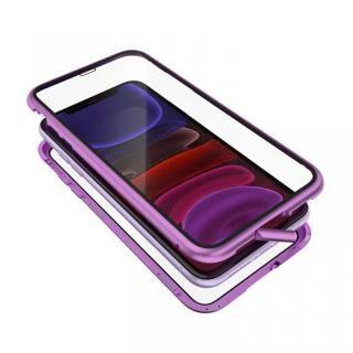 iPhone 11 ケース Monolith Alluminio 2020(モノリス アルミニオ 2020)/パープル ゴリラガラス+アルミバンパー for iPhone 11