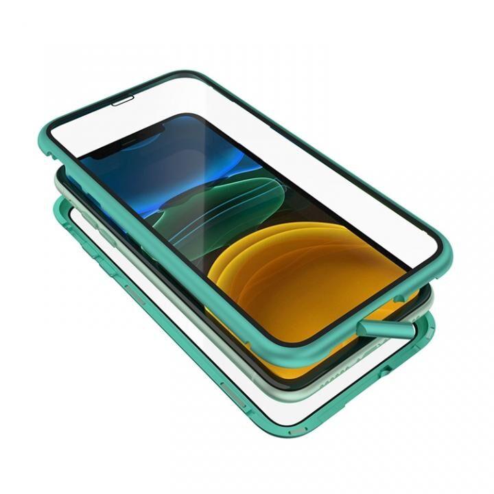 iPhone 11 ケース Monolith Alluminio 2020(モノリス アルミニオ 2020)/グリーン ゴリラガラス+アルミバンパー for iPhone 11_0