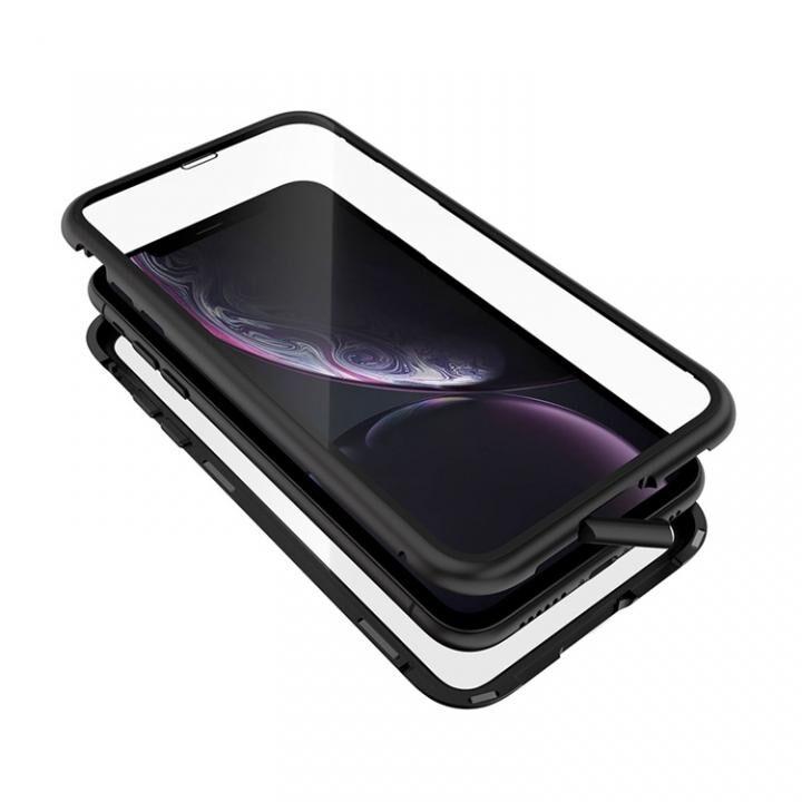 iPhone XR ケース Monolith Alluminio 2020(モノリス アルミニオ 2020)/ブラック ゴリラガラス+アルミバンパー for iPhone XR_0