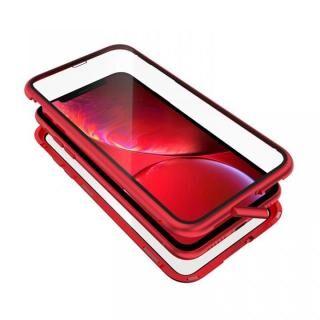 iPhone XR ケース Monolith Alluminio 2020(モノリス アルミニオ 2020)/レッド ゴリラガラス+アルミバンパー for iPhone XR