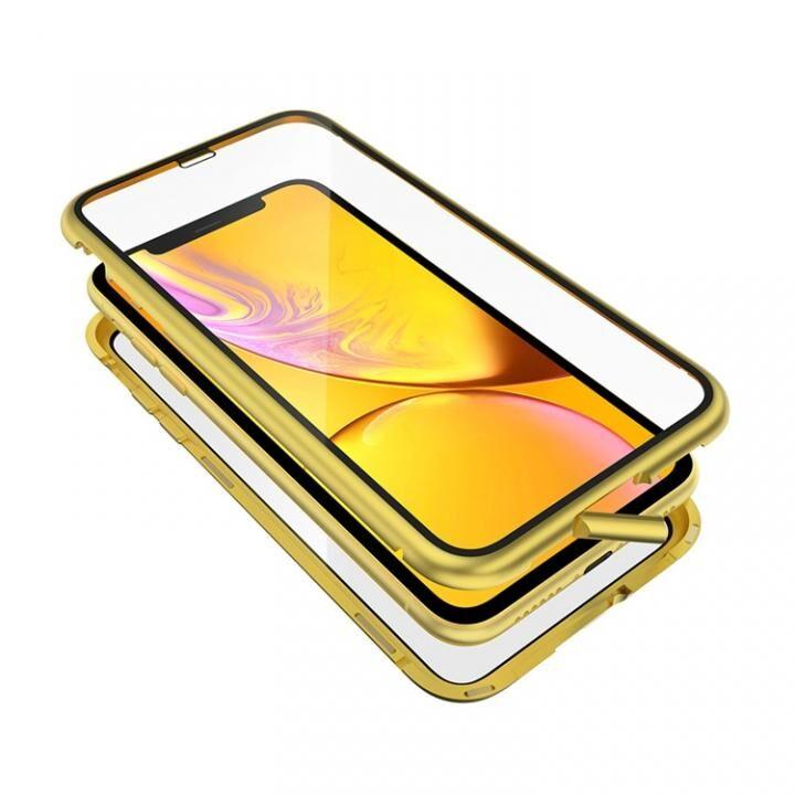 iPhone XR ケース Monolith Alluminio 2020(モノリス アルミニオ 2020)/イエロー ゴリラガラス+アルミバンパー for iPhone XR_0