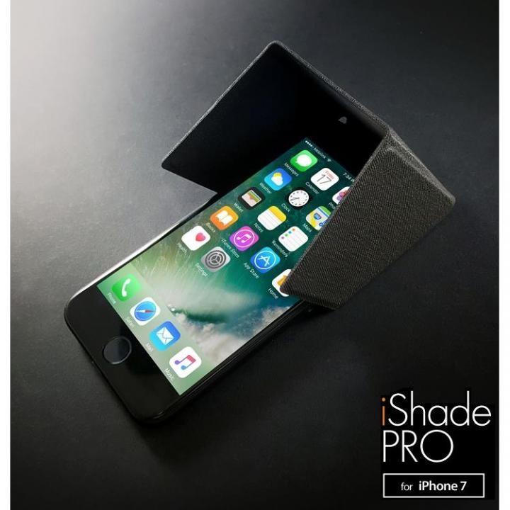 3WAY スマートユーティリティ iShadePRO for iPhone7 ブラックグレー