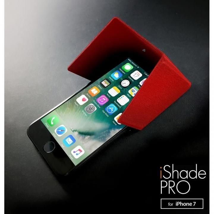 3WAY スマートユーティリティ iShadePRO for iPhone 8/7 カーニバルレッド_0