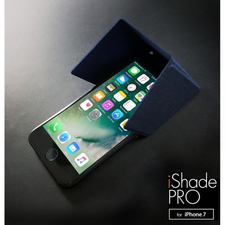 3WAY スマートユーティリティ iShadePRO for iPhone 8/7 ネイビーブルー_0