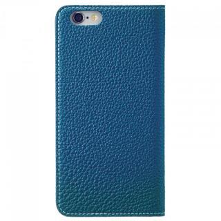 【iPhone6ケース】BONAVENTURA ドイツ製本革手帳型ケース ブルー iPhone 6_3